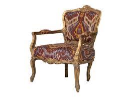 Ikat Armchair Sketch42 Antique Gilt Chair Ikat U003d