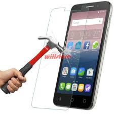 New Tempered Glass Screen Protector Film for Alcatel One Touch Pop 2 3  &EC46