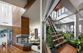 House Design Inside Garden Modern House Design With Indoor Garden Broadway Penthouse Renovation