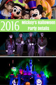 mickey u0027s halloween party 2016 dates desert chica