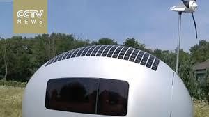 self sustaining homes slovak architects design self sustaining mobile home youtube