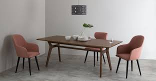 Dark Dining Table by Jenson Extending Dining Table Dark Stain Oak Made Com