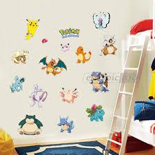 pokemon vinyl stickers images pokemon images pokemon go wall stickers 162304255006