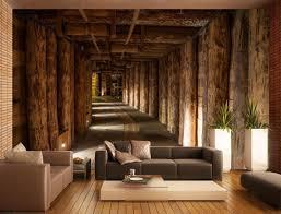 wand ideen wand im wohnzimmer tapete idee haus room decor innen