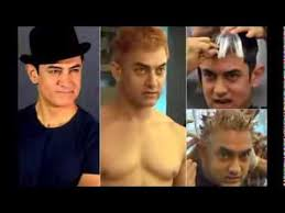 aamir khan hair transplant aamir khan dyes hair blond for dhoom 3 katrina kaif news today