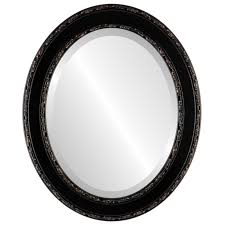 White Framed Oval Bathroom Mirror - accessories for bathroom wall decoration using chinese gold and