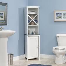 Walmart Bathroom Shelves by Sauder Bath Caraway Collection Space Saver Hayneedle