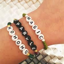 glass bracelet images You name it personalised name alphabet glass bead bracelet dana JPG