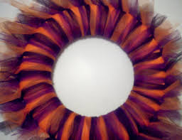 Halloween Tulle Wreath by Halloween Wreath Food Crafts And Family