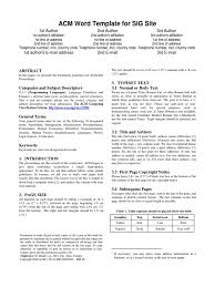acm word template for sig site typefaces citation