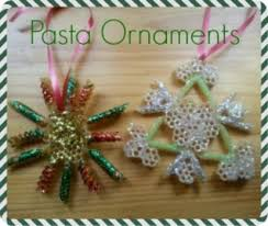 macaroni made pasta ornaments macaroni kid