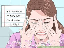 eye pain from light 3 ways to comfort a sore and itchy eye wikihow