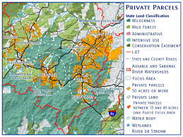 Lake Placid New York Map by Mapping Initiative U2013 Lake Placid Land Conservancy