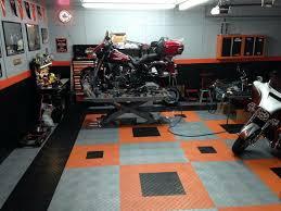 Cool Garage Floors 36 Best Garagens Images On Pinterest Harley Davidson Garage