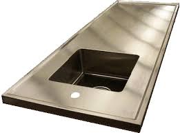 commercial stainless steel sink and countertop products stainless steel countertop general information