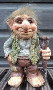 novelty viking dam troll tri gnome gift ornament statue