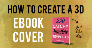 how to make a 3d ebook cover in 10 minutes with photoshop