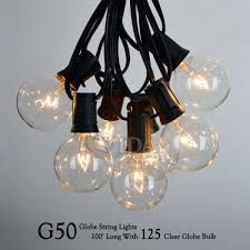 proxy string lights lighting 48 foot weatherproof outdoor ul