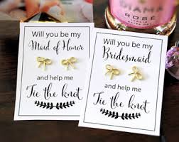 bridesmaid asking gifts how to ask bridesmaids 2017 wedding ideas gallery