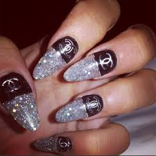 chanel nails designs image collections nail art designs