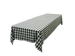 Outdoor Checker Table Made From Linentablecloth 60 X 102 Inch Rectangular Tablecloth