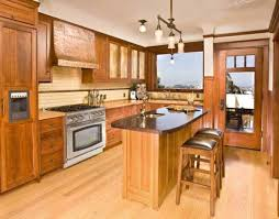 Custom Kitchen Furniture by A Custom Kitchen In A San Francisco Arts Crafts House Includes