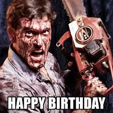 Zombie Birthday Meme - image result for horror birthday happy birthday pinterest