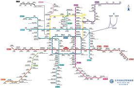 Beijing Metro Map by Icml Beijing