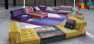 mah jong sofa by hans hopfer for roche bobois wood furniture biz