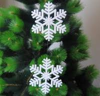 cheap snowflake decor free shipping snowflake