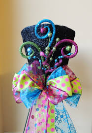 whimsy lighted top hat christmas tree topper last one
