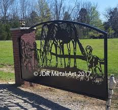 custom driveway gates by jdr metals free standard shipping