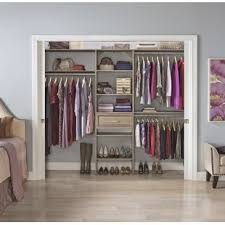 bedroom closet systems closet systems organizers you ll love wayfair