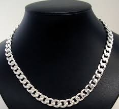mens silver curb necklace images Chains fashion jewellery wholesale western counties jpg