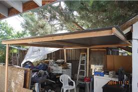 Clear Patio Roofing Materials by How To Put A Simple Shed Sheru U0026 Bruno Lazy Co Worker Perfect