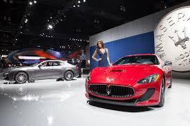 red maserati quattroporte maserati quattroporte gransport shows its aggressive side in la