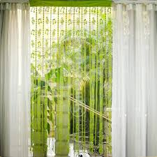 String Tassel Curtains Musical Note Tassel String Door Curtain Window Room Divider