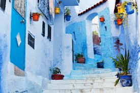 free images winter wall color season painting old town art winter wall color blue season painting old town art mural watercolor paint chefchaouen north morocco chaouen