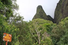Iao Valley State Park Map by Our Adventures In Maui Life In Birmingham