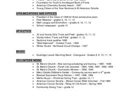 Resume Volunteer Experience Example by Student Athlete Resume Sample Reentrycorps