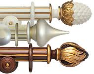 Cheap Curtain Poles Uk Wooden Curtain Poles And Wood Effect Curtain Poles