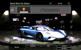 koenigsegg need for speed underground 2 cars by koenigsegg nfscars