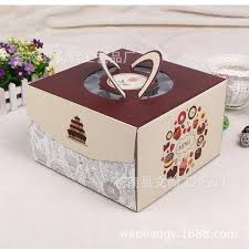 8 inch pastry window box cake box west point wholesale