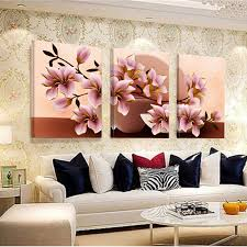 living room wall paintings no frame orchid wall painting flower canvas painting home decoration