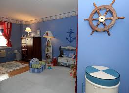 nautical floor lamp kids beach with area rug bunkroom caged