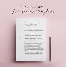 Templates For Resume Free Templates For Resume Free Jospar