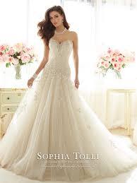 Wedding Skirt Full A Line Wedding Gown Sophia Tolli Y11637