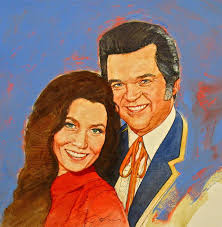 its country 12 loretta lynn conway twitty painting by cliff spohn