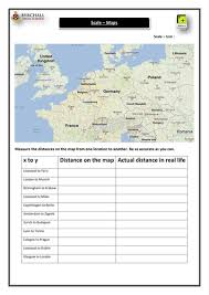 map scales bearings and map scales 9 worksheets by skillsheets teaching