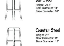 table height bar stools standard bar height standard furniture yoco adjustable height bar